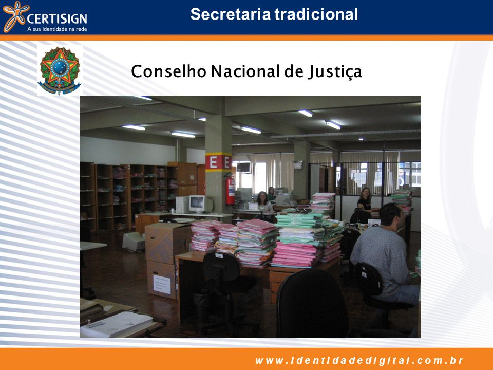 Secretaria tradicional