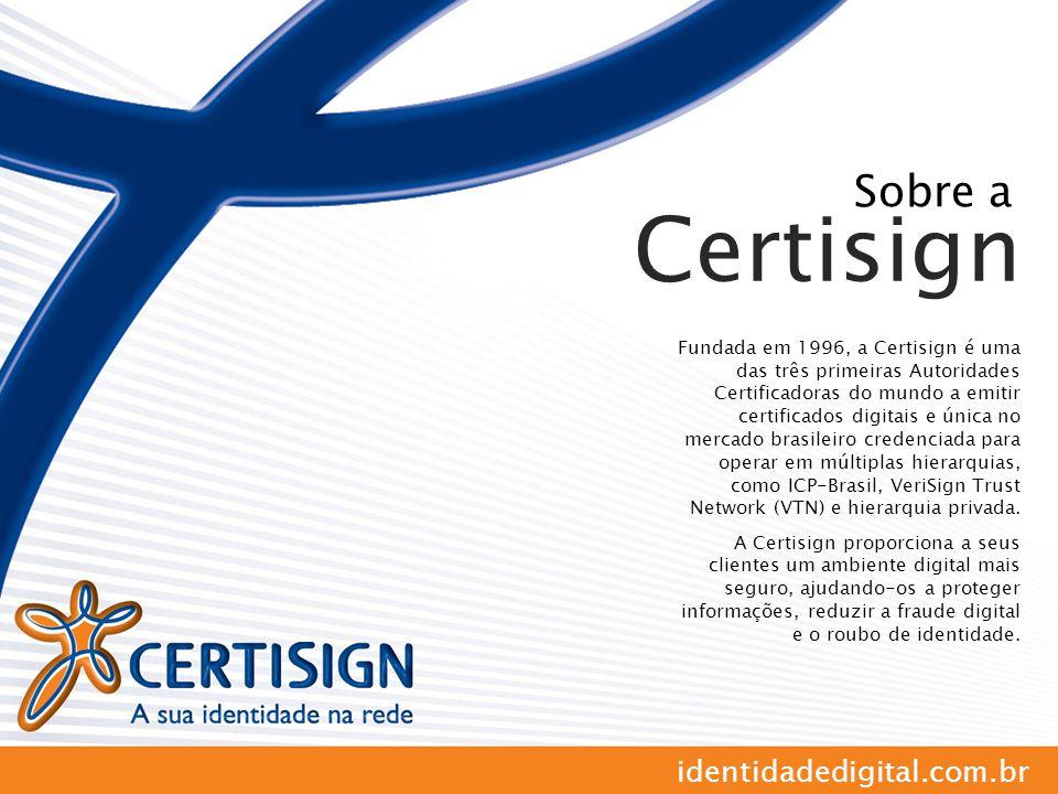 Certisign Sobre a identidadedigital.com.br
