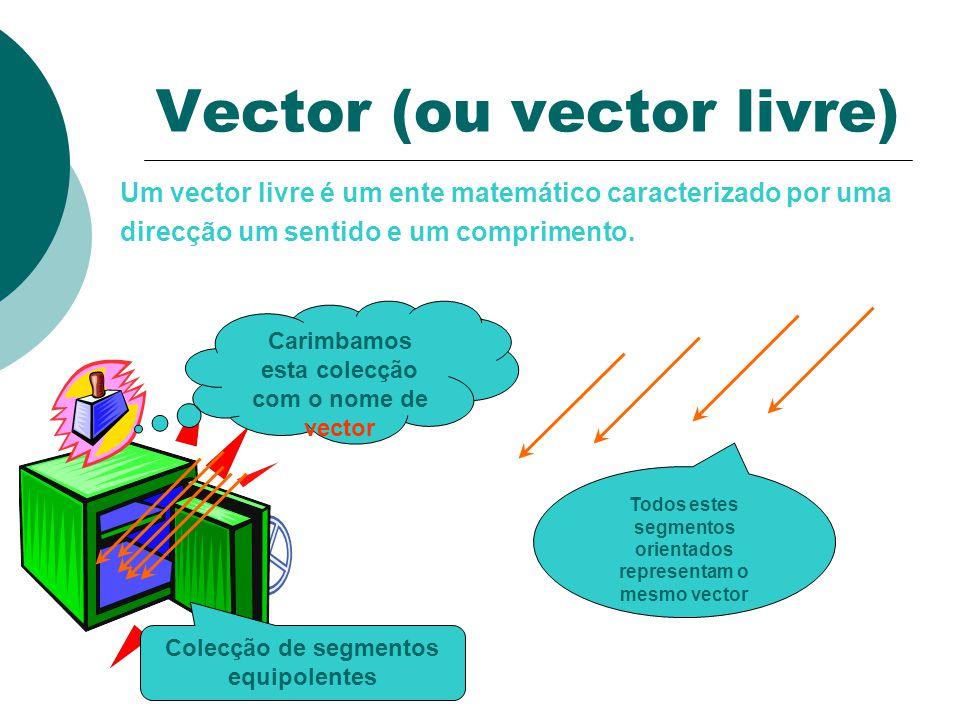 Vector (ou vector livre)