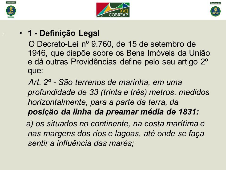 1 - Definição Legal