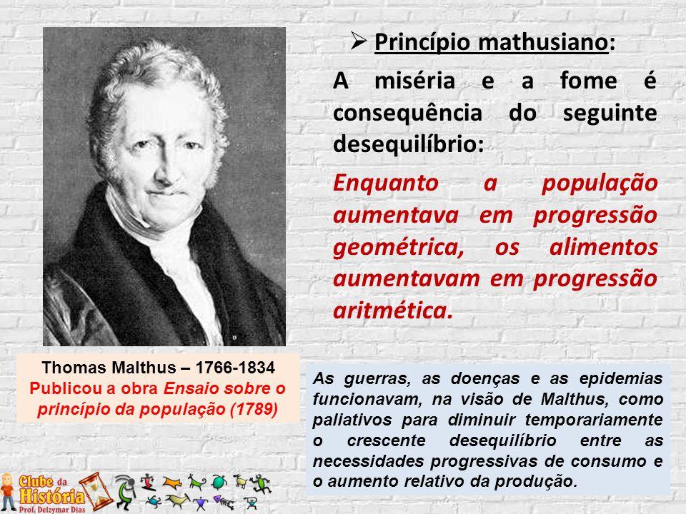 Princípio mathusiano: