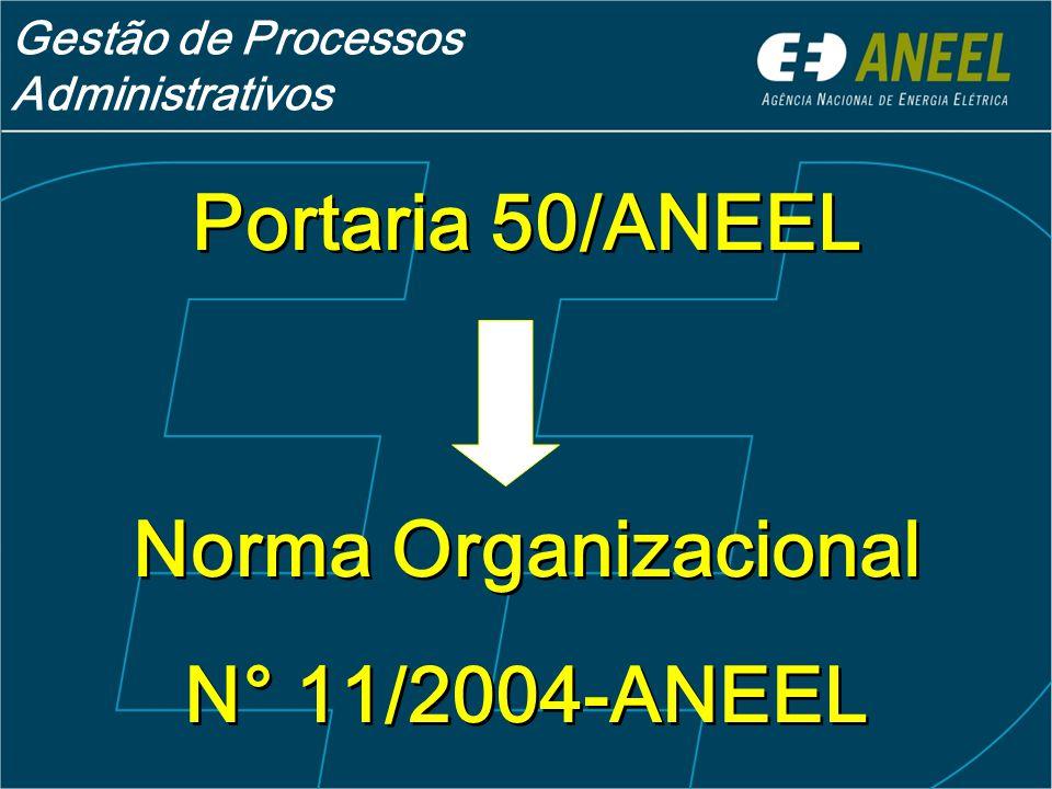 Portaria 50/ANEEL N° 11/2004-ANEEL