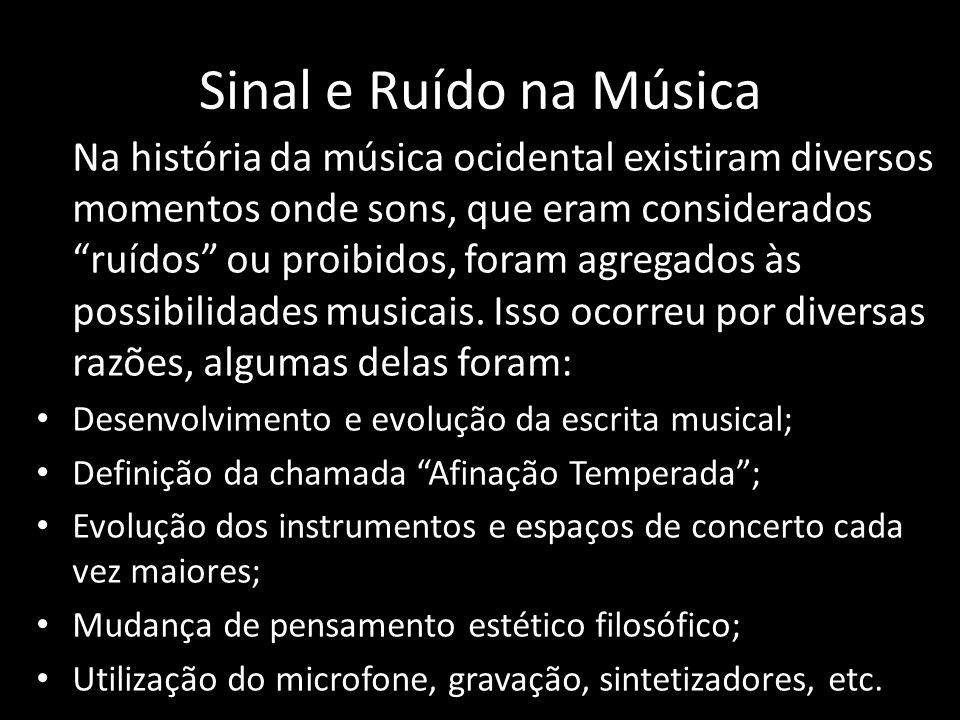 Sinal e Ruído na Música