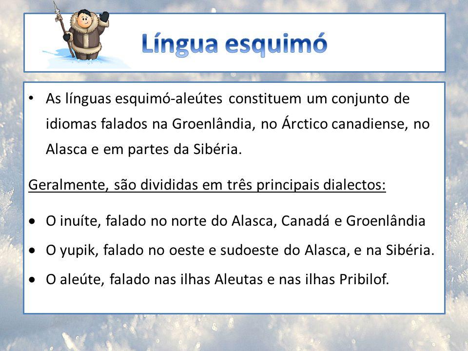 Língua esquimó
