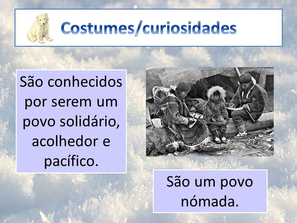 Costumes/curiosidades