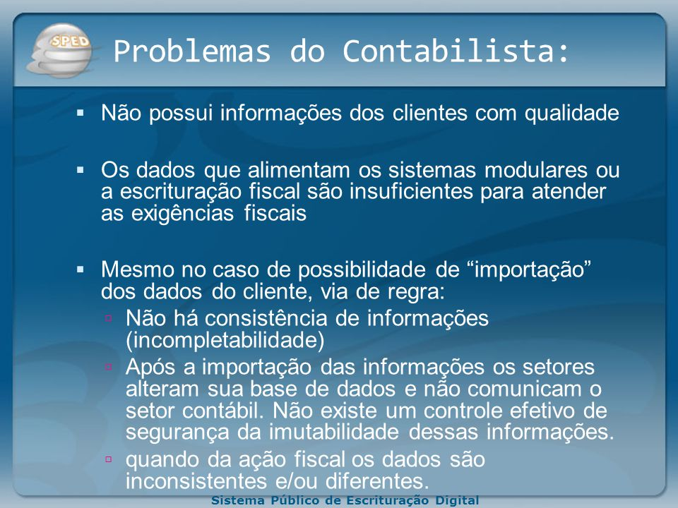 Problemas do Contabilista:
