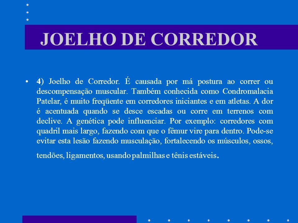 JOELHO DE CORREDOR