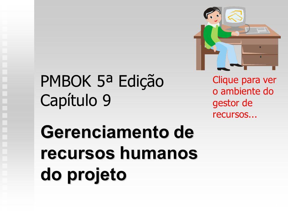PMBOK 5ª Edição Capítulo 9