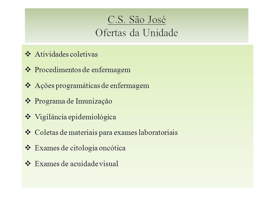 C.S. São José Ofertas da Unidade