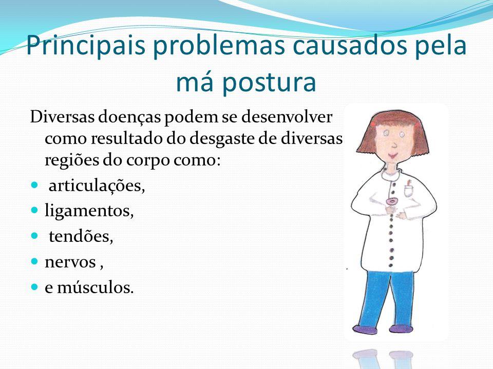 Principais problemas causados pela má postura