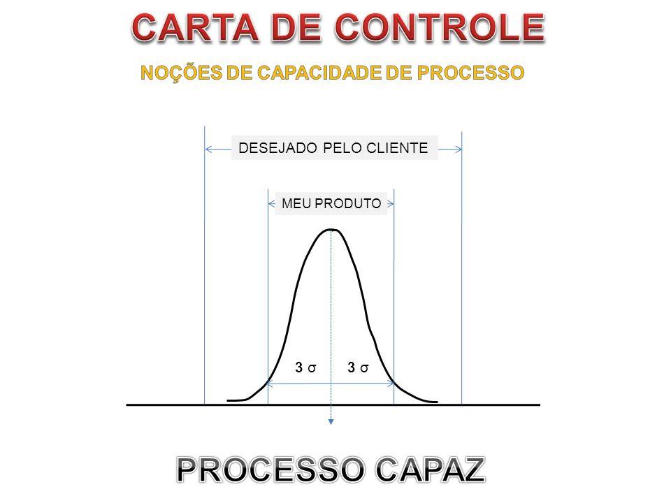 NOÇÕES DE CAPACIDADE DE PROCESSO