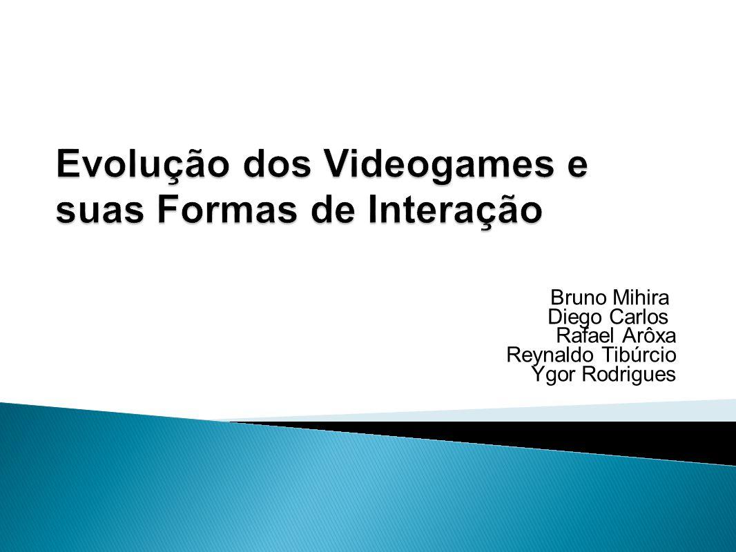 Evolução dos Videogames e suas Formas de Interação