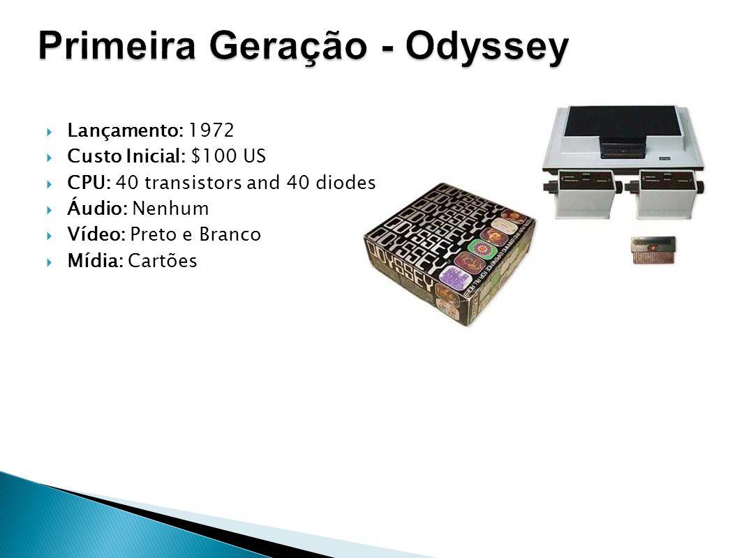 Primeira Geração - Odyssey