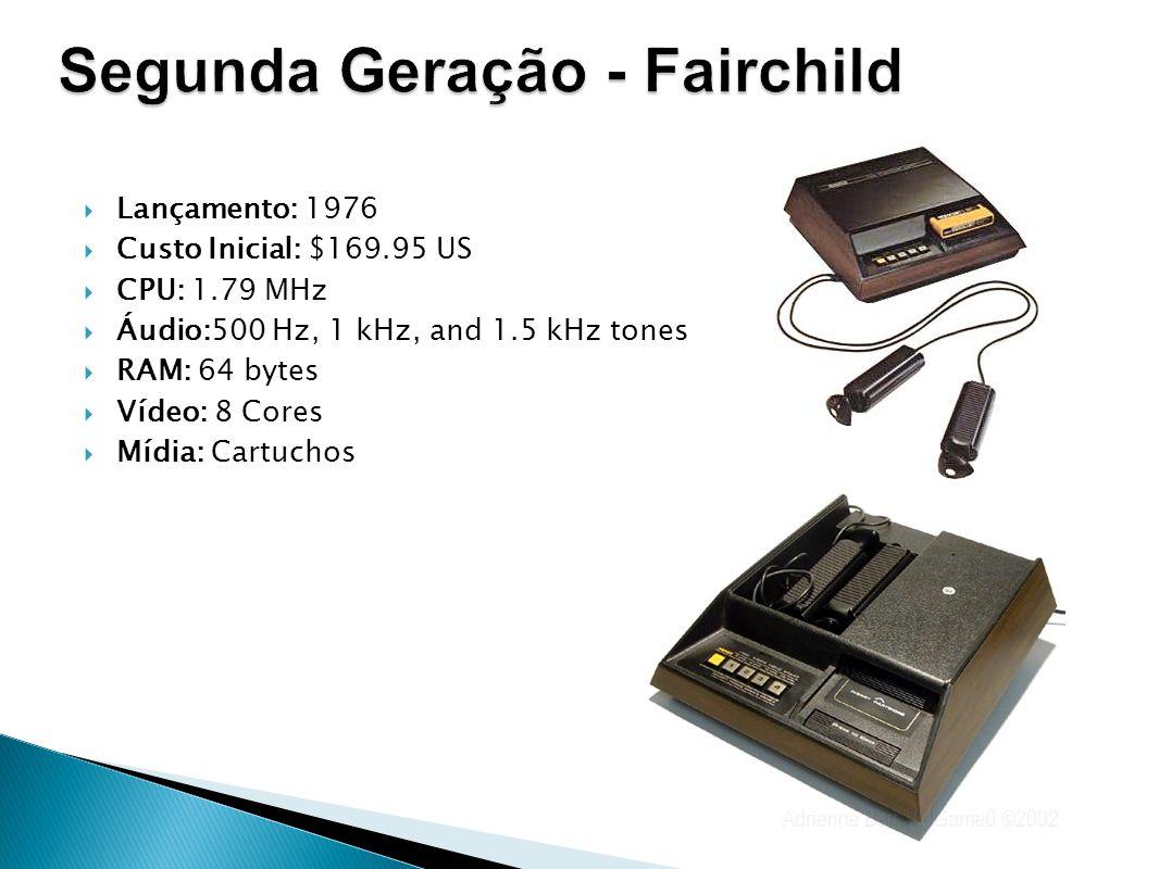 Segunda Geração - Fairchild