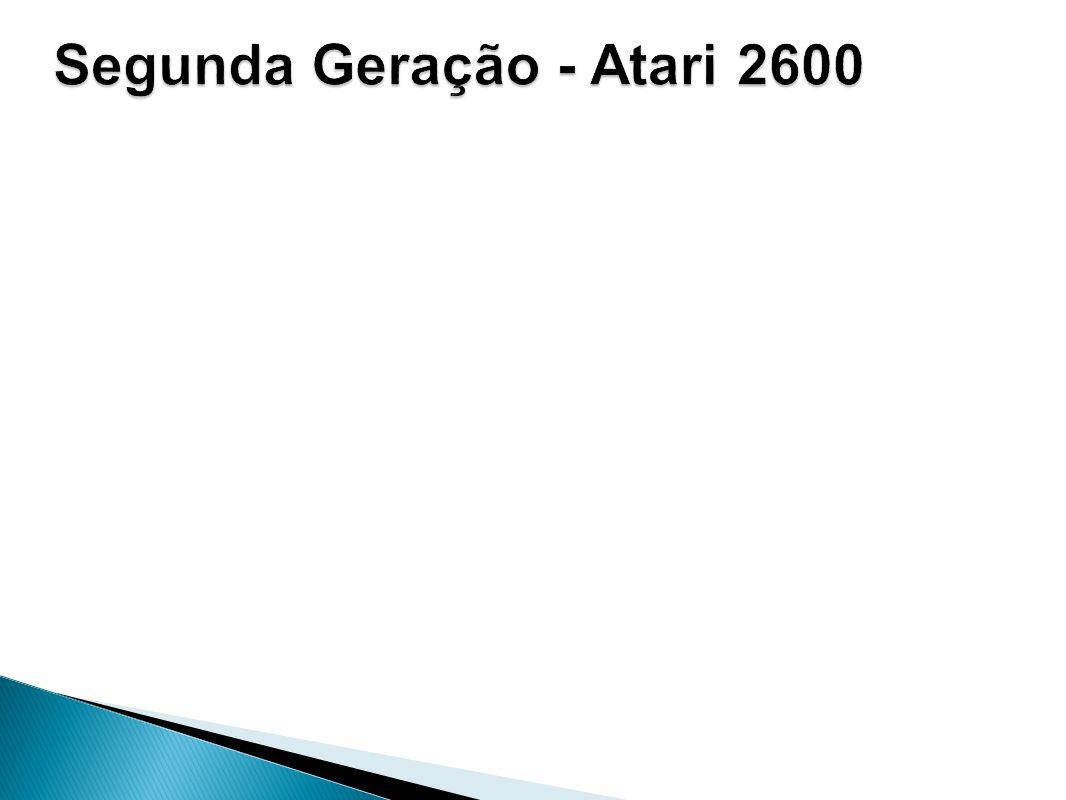 Segunda Geração - Atari 2600