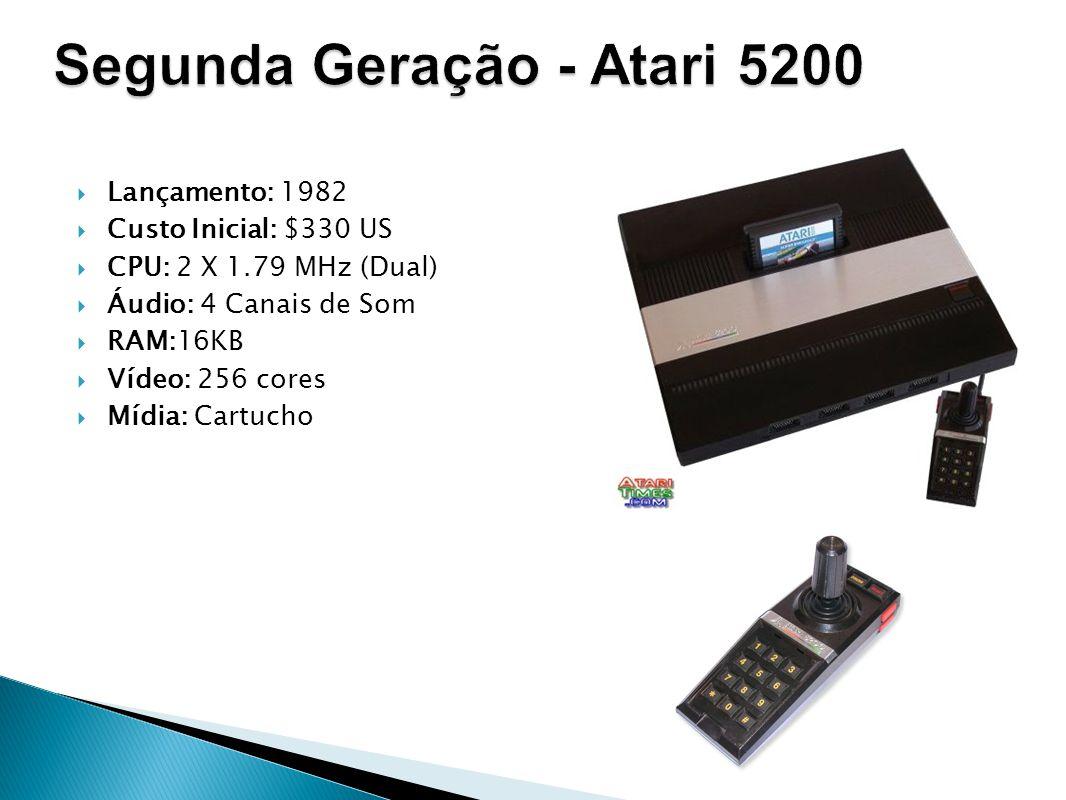 Segunda Geração - Atari 5200