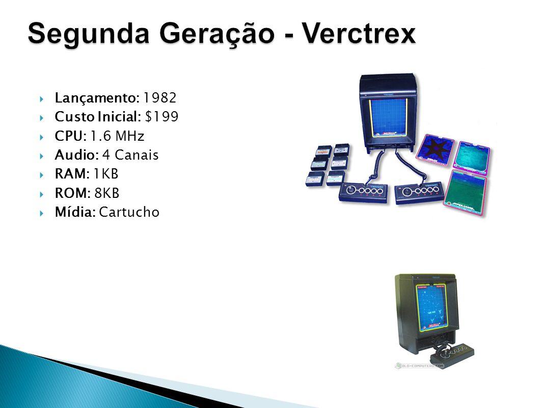 Segunda Geração - Verctrex