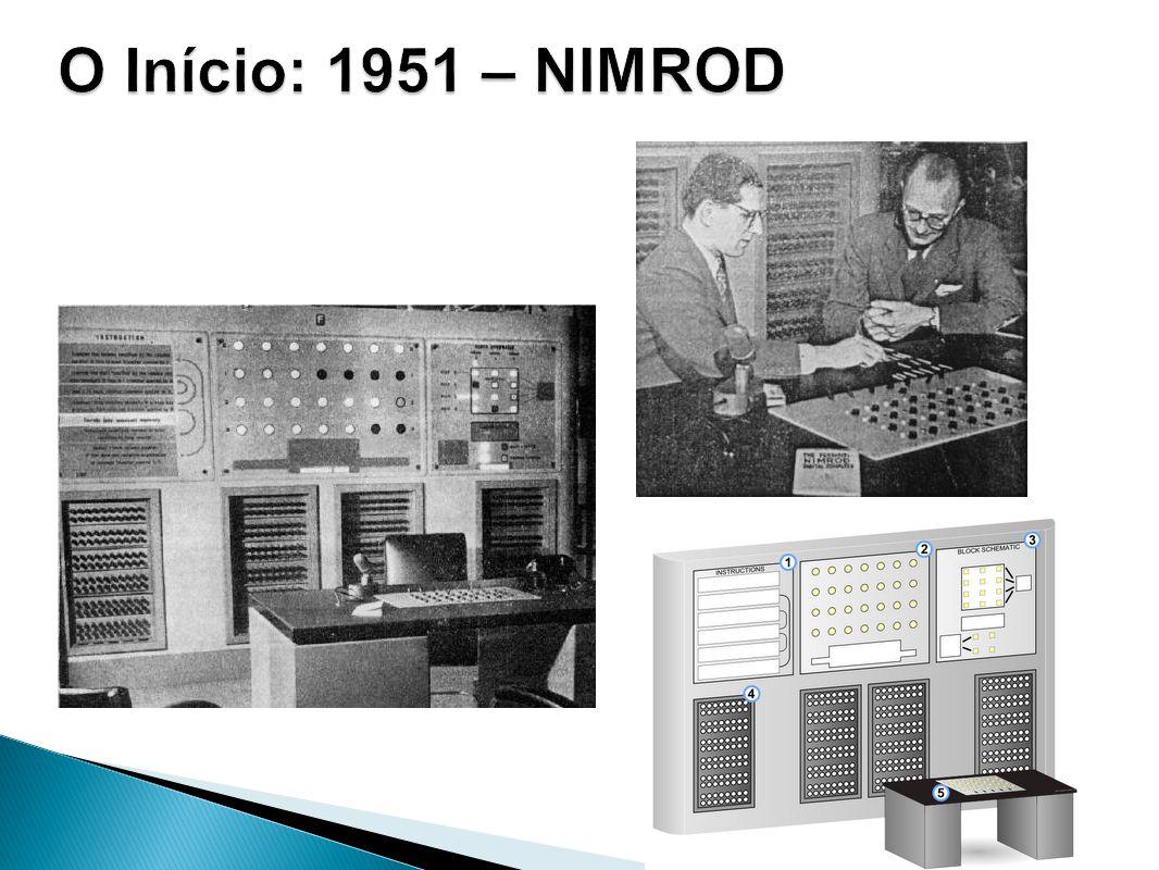 O Início: 1951 – NIMROD 1951 – NIMROD com o jogo NIM