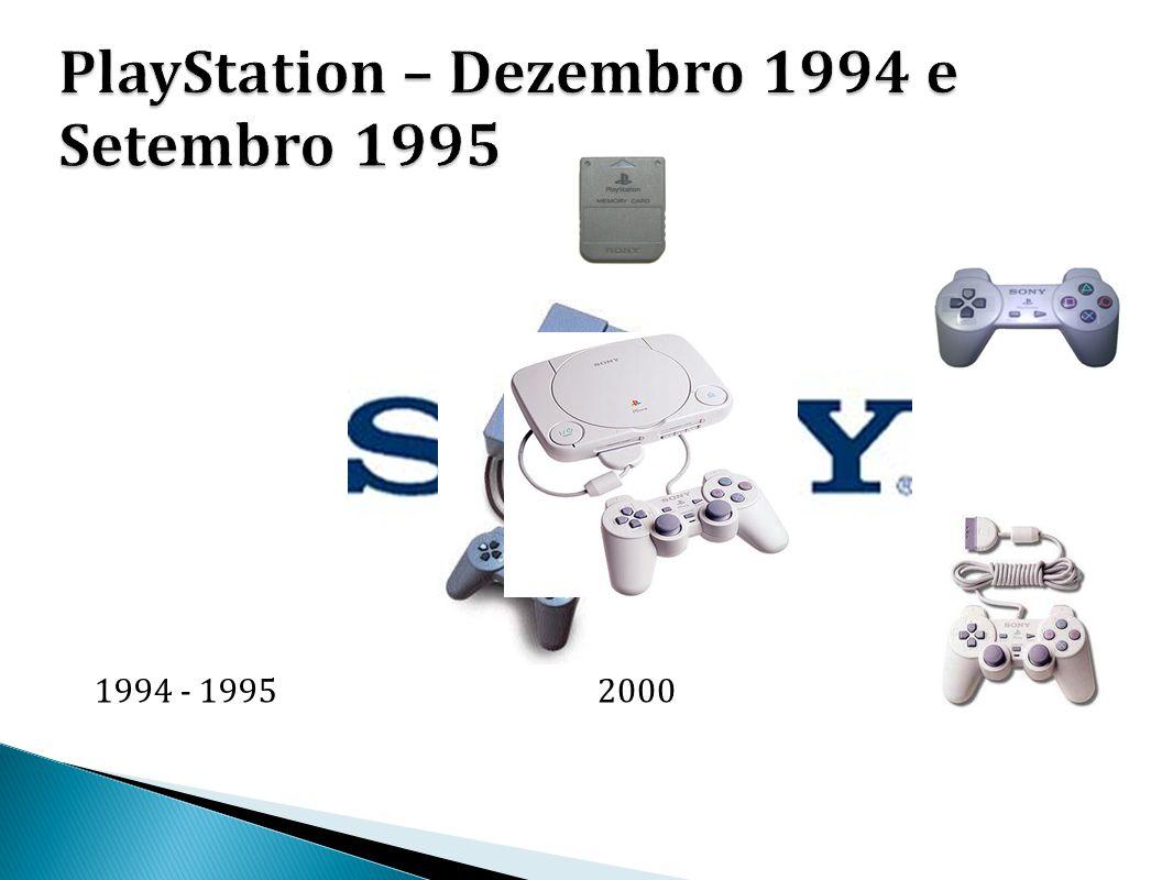 PlayStation – Dezembro 1994 e Setembro 1995