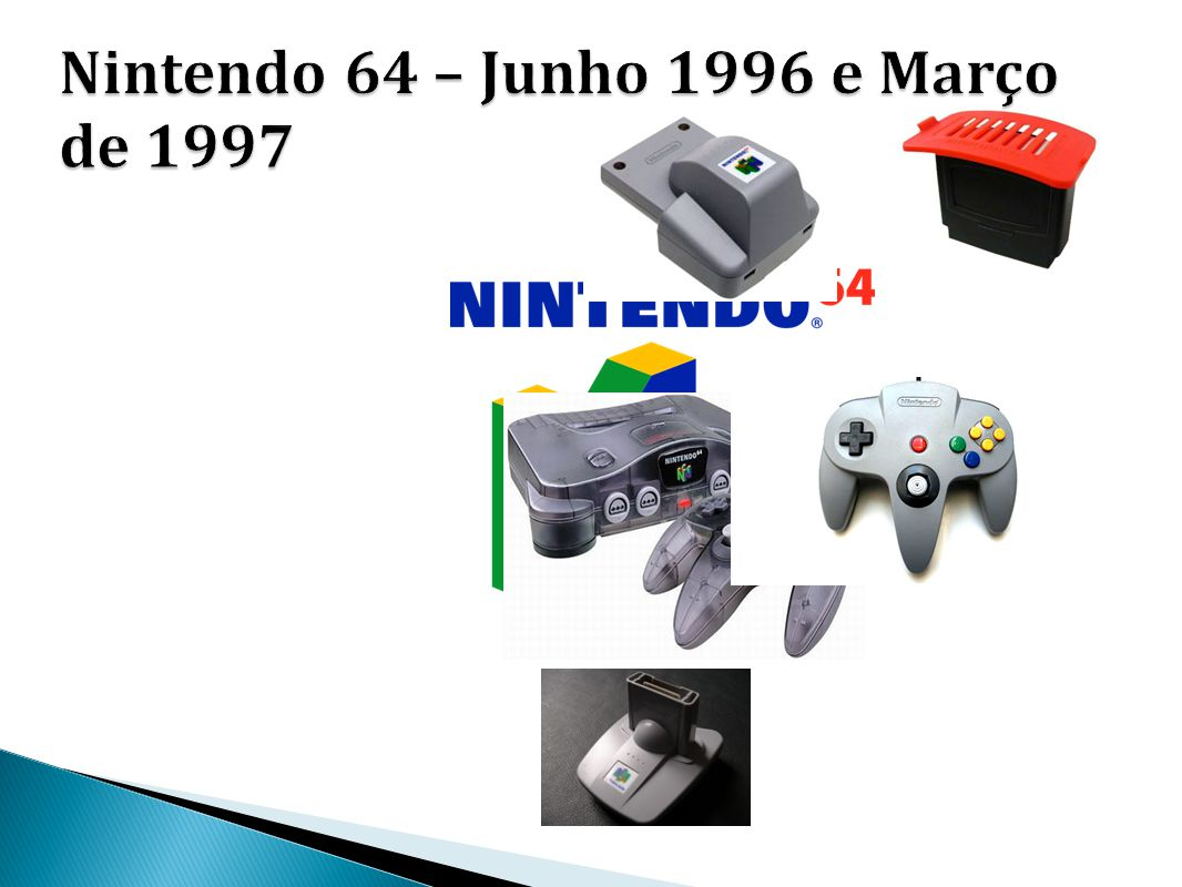 Nintendo 64 – Junho 1996 e Março de 1997