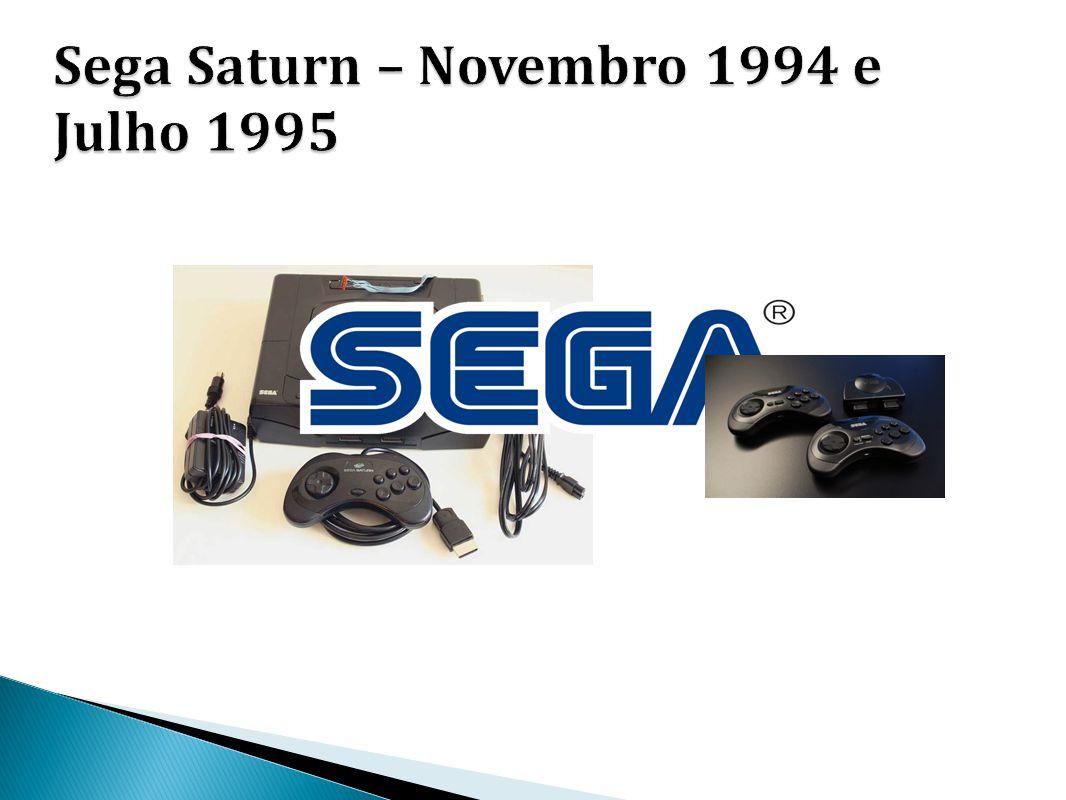 Sega Saturn – Novembro 1994 e Julho 1995
