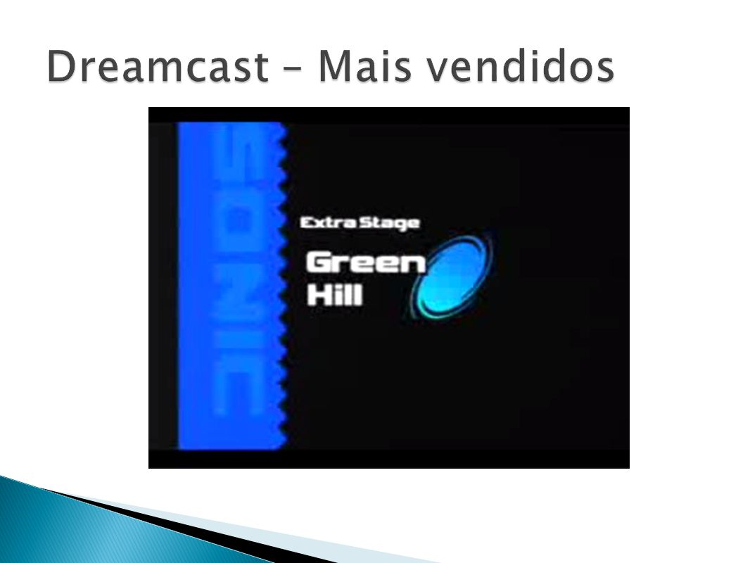 Dreamcast – Mais vendidos