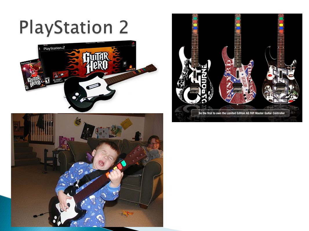 PlayStation 2 títulos originais (Devil May Cry, Guitar Hero, Kingdom Hearts)
