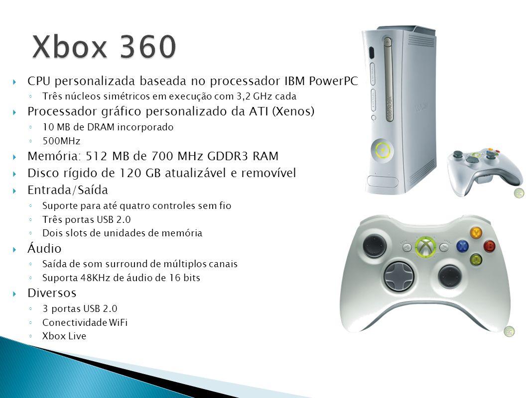 Xbox 360 CPU personalizada baseada no processador IBM PowerPC