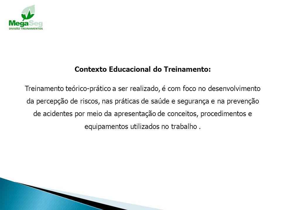 Contexto Educacional do Treinamento: