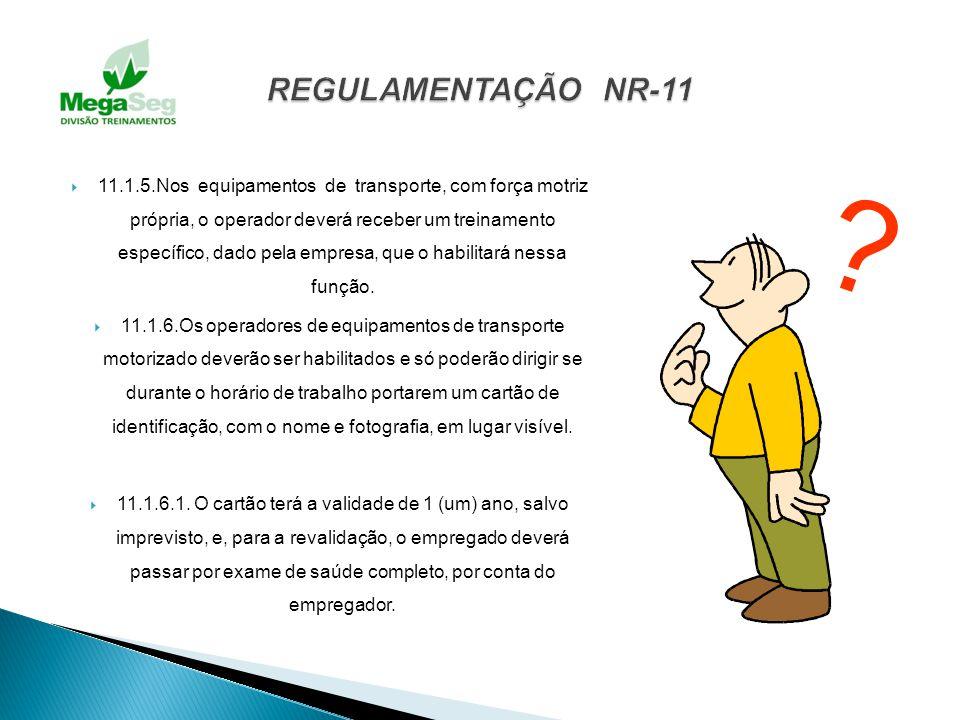 REGULAMENTAÇÃO NR-11