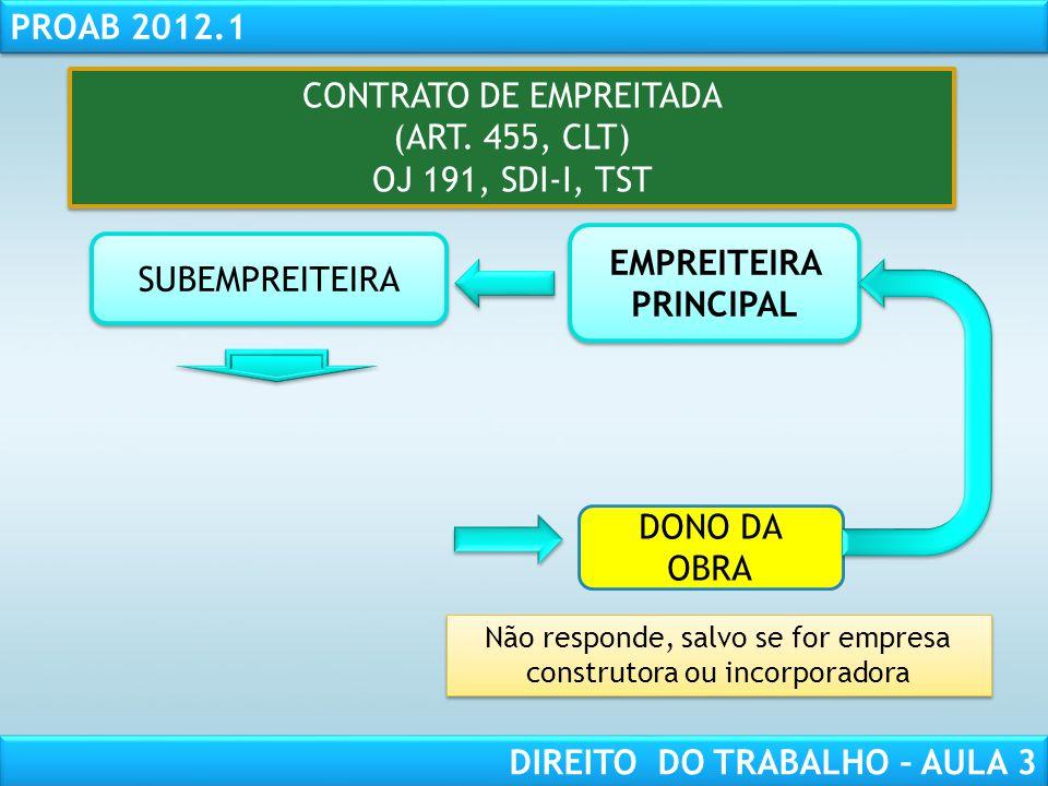 EMPREITEIRA PRINCIPAL