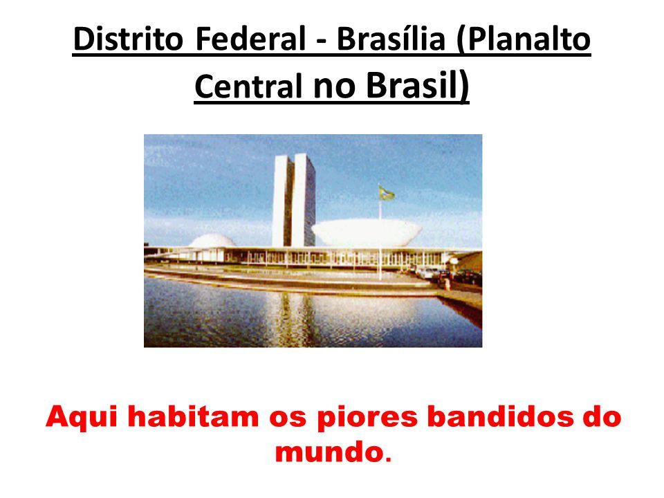 Distrito Federal - Brasília (Planalto Central no Brasil)