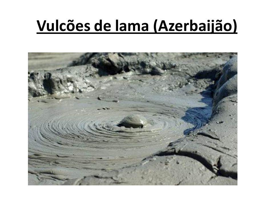 Vulcões de lama (Azerbaijão)