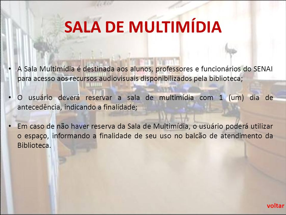 SALA DE MULTIMÍDIA