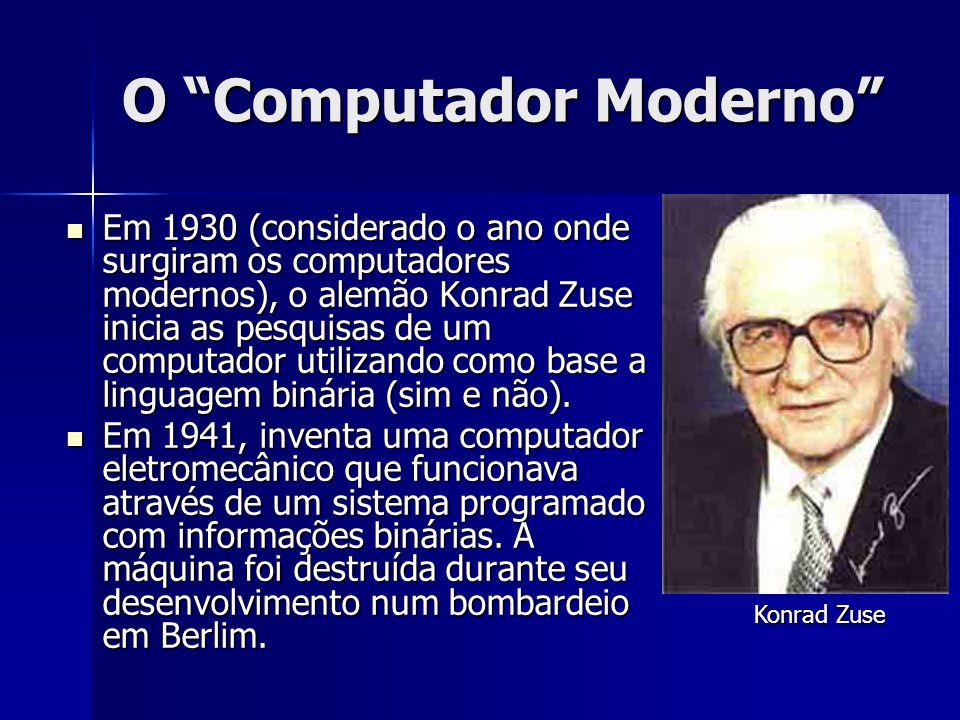 O Computador Moderno