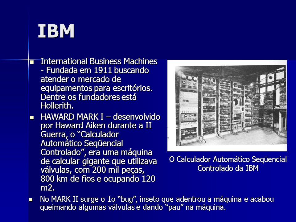 O Calculador Automático Seqüencial Controlado da IBM