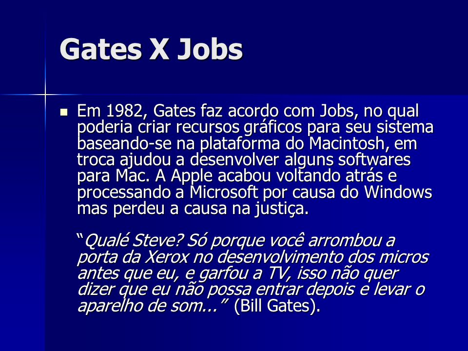 Gates X Jobs