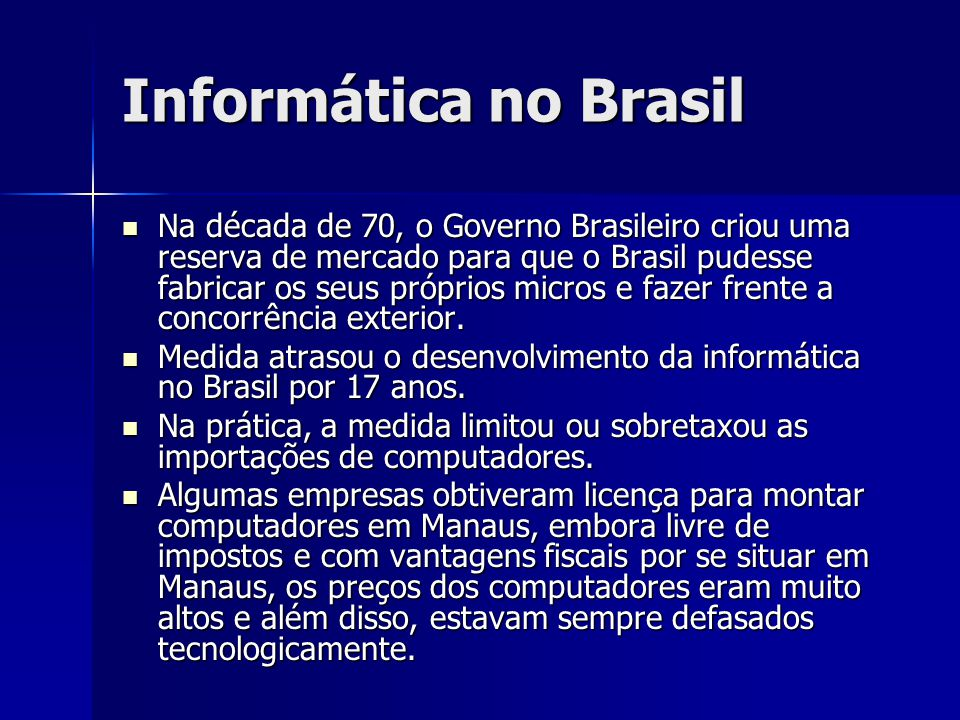 Informática no Brasil