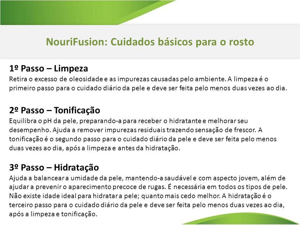 NouriFusion: Cuidados básicos para o rosto