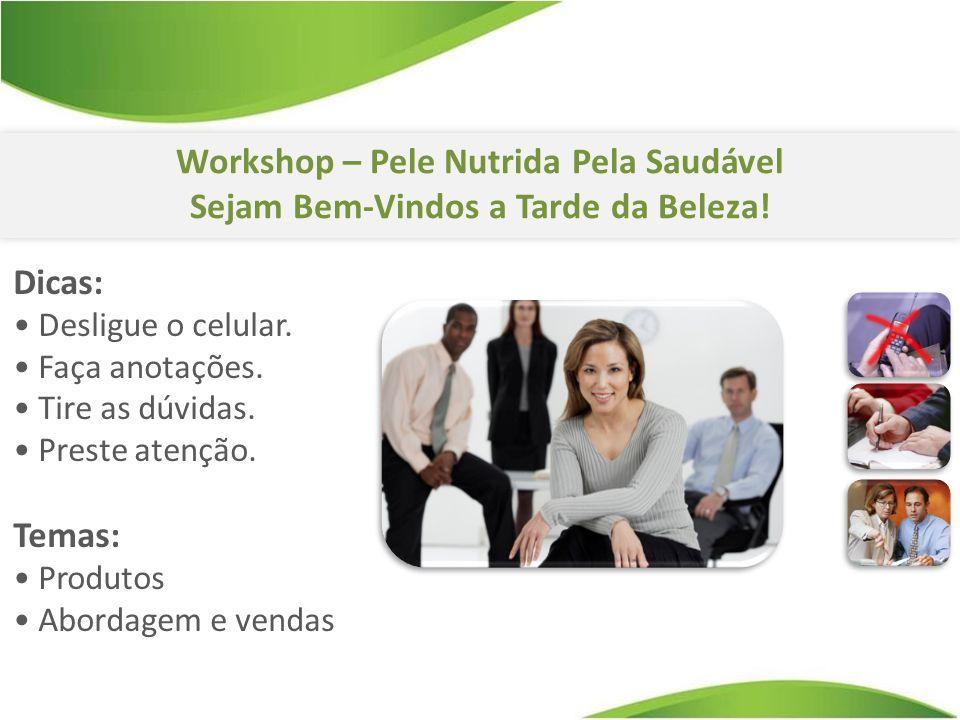 Workshop – Pele Nutrida Pela Saudável