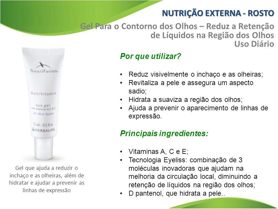 NUTRIÇÃO EXTERNA - ROSTO