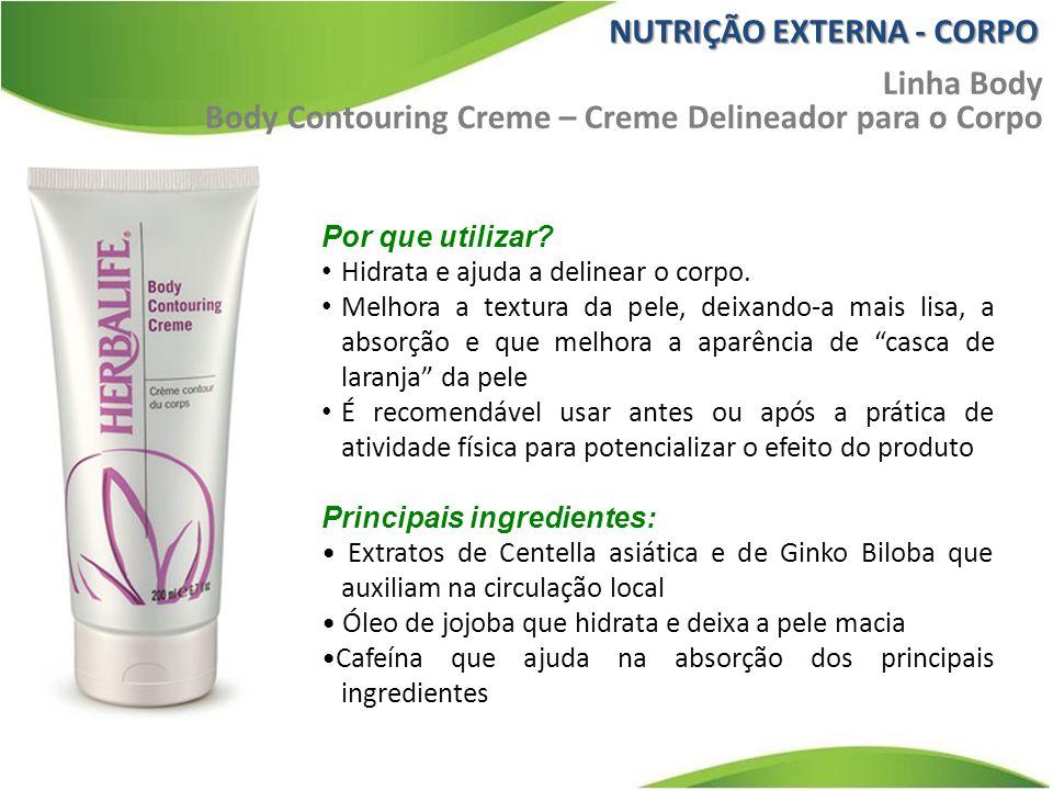 NUTRIÇÃO EXTERNA - CORPO Linha Body