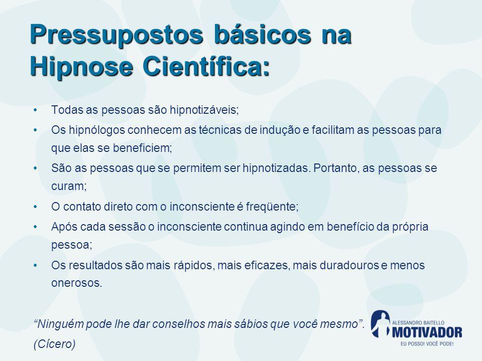 Pressupostos básicos na Hipnose Científica: