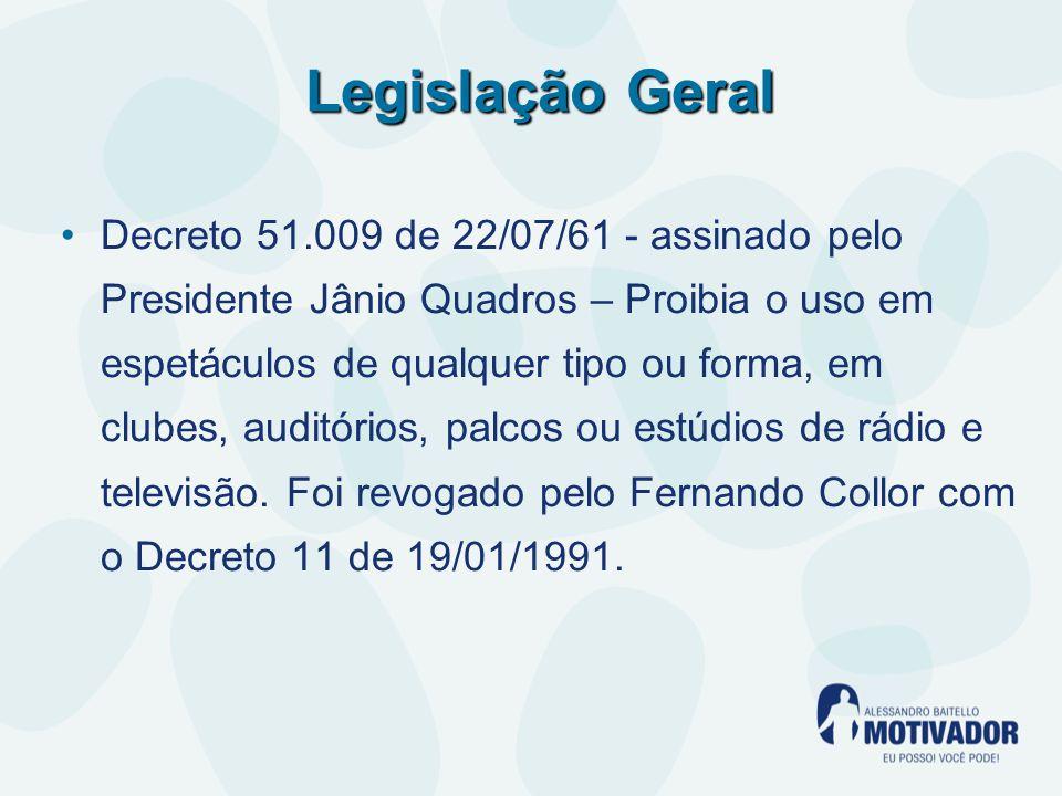 Legislação Geral