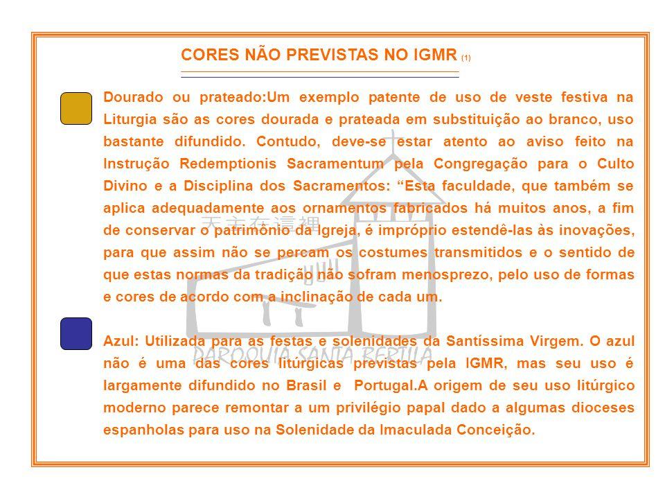 CORES NÃO PREVISTAS NO IGMR (1)