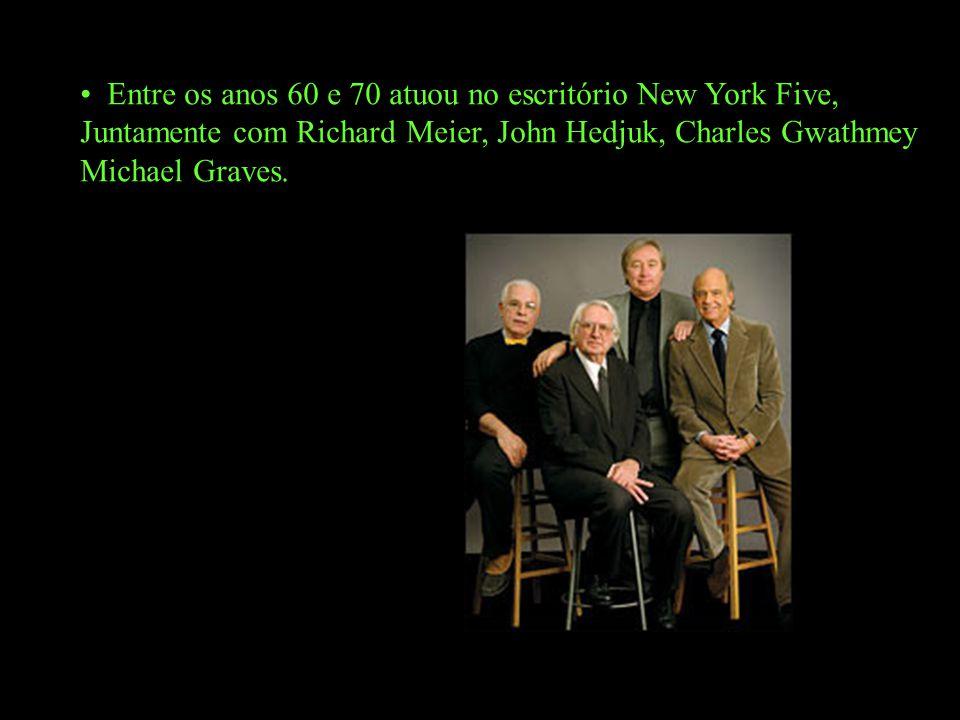 Entre os anos 60 e 70 atuou no escritório New York Five,