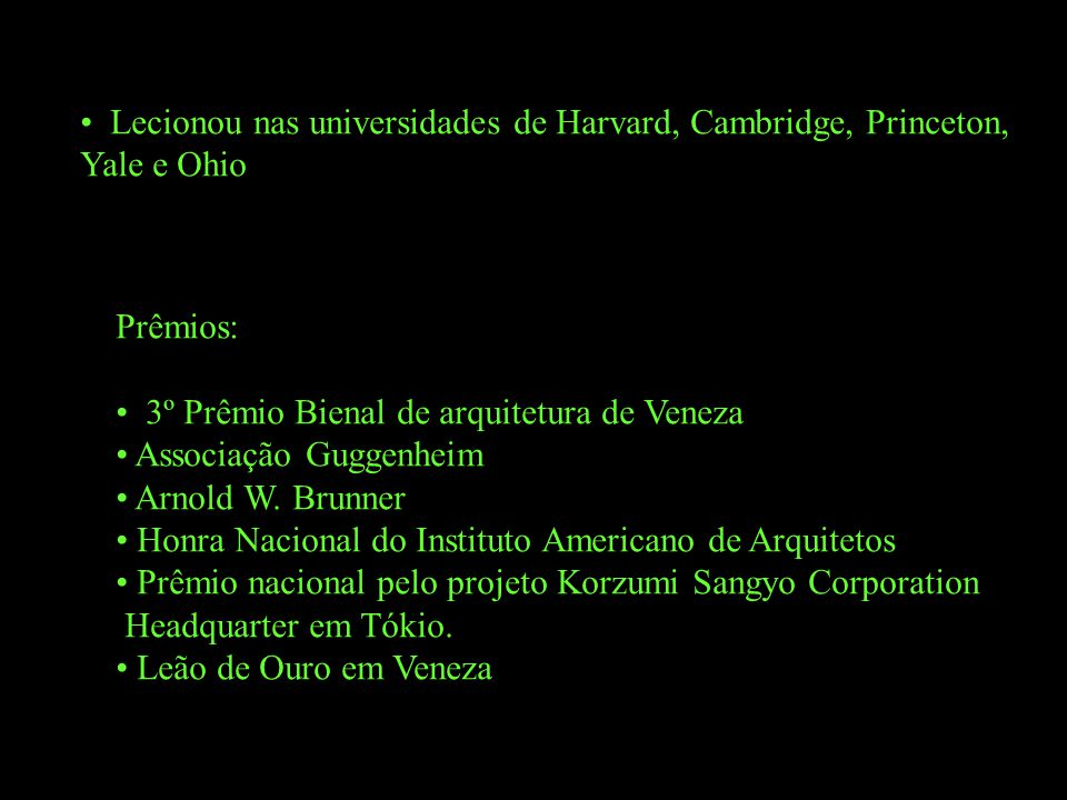 Lecionou nas universidades de Harvard, Cambridge, Princeton,