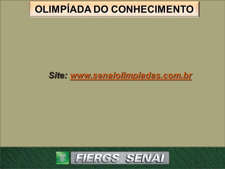Site: www.senaiolimpiadas.com.br