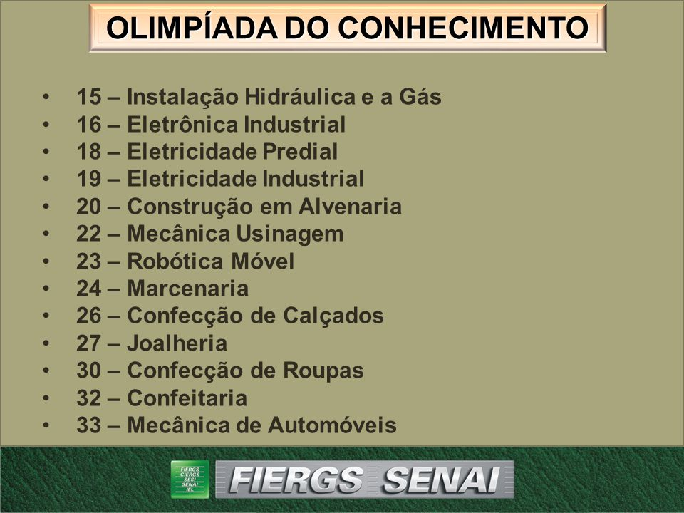 15 – Instalação Hidráulica e a Gás