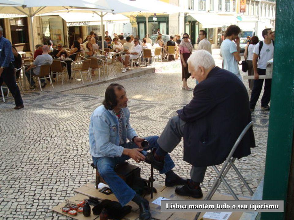 Lisboa mantém todo o seu tipicismo